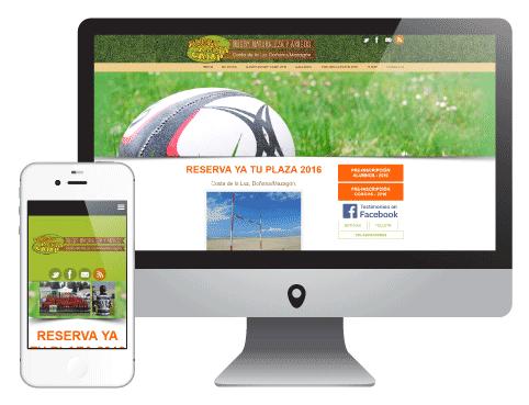 Web RugbyRugbyCamp