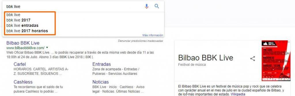 búsqueda semántica Google predictiva