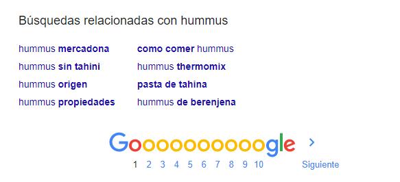 búsquedas relacionadas ejemplos hummus