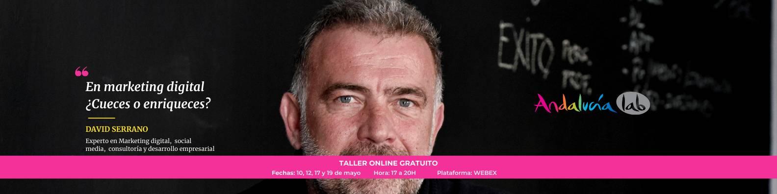 David Serrano Taller online de redes sociales