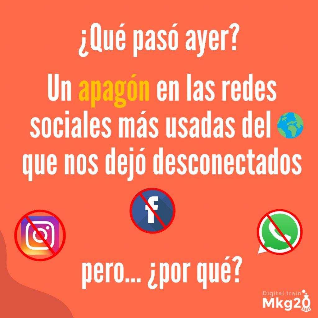 Apagón Facebook, Instagram y WhatsApp
